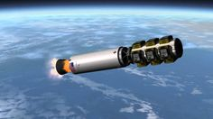KSP: Falcon 9 Landing - Real Solar System