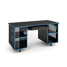 Office Supplies, Technology, Ink & Much Corner Gaming Desk, Gaming Desk Black, Gaming Computer Desk, Gaming Room Setup, Gaming Rooms, Gaming Desk Station, Custom Computer Desk, Gamer Setup, Gaming Desk Accessories