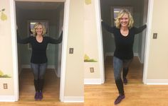 3 Stretches That Un-Slouch Your Back—All You Need Is A Doorway Walk out shoulder stretch Scoliosis Exercises, Posture Exercises, Back Exercises, Kyphosis Exercises, Posture Correction Exercises, Shoulder Stretches, Rounded Shoulder Exercises, Shoulder Massage, Neck Stretches