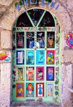 Decorated door (la bottega di amrita -----> catalogo e ispirazioni)