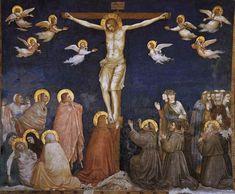 The Crucifixion, c.1311 - c.1320 - Giotto