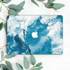Blue Water Wave Marble Hard Case Cover For Macbook Pro Retina Air 11 12 13 15