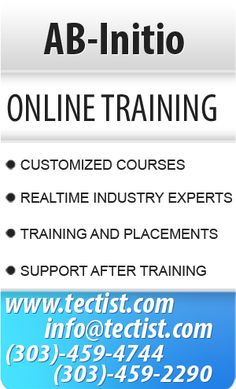 AB Initio Online Training | Data warehousing Course Training by real time experts. Contact: +1(303)-459-2290 http://www.tectist.com/ab-initio-online-training.html #abinitio #abinitiotraining #abinitioonlinetraining