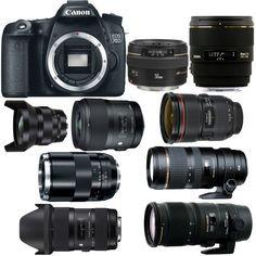 Best Lenses for Canon EOS 70D