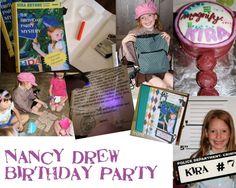 nancy drew party!