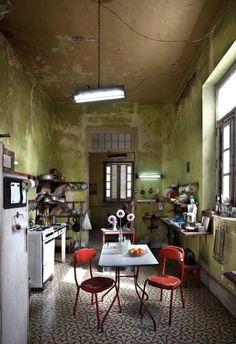 Art deco kitchen in Havanna