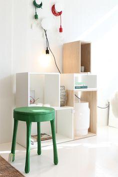 A Shop Where Less Is More : Remodelista_Modular Shelving Concept
