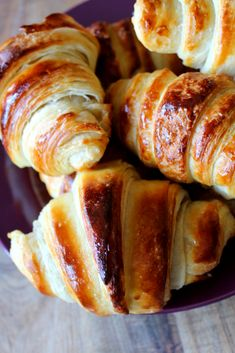 Keto Recipes, Snack Recipes, Cooking Recipes, Snacks, French Croissant, Butter Recipe, Croissants, Holiday Baking, Farmhouse Table