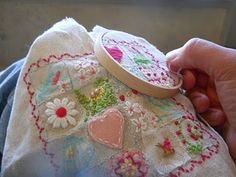1 inch square sampler..I will be doing this. I even have my grandmother's sewing tin to carry it in.
