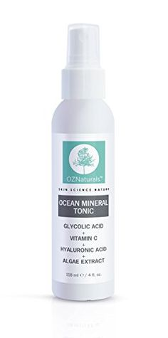OZNaturals Facial Toner This Natural Skin Toner Contains Vitamin C Glycolic Acid Witch Hazel This Face Toner Is Considered The Most Effective Anti Aging Vitamin C Toner Available *** You can find out more details at the link of the image. Natural Skin Toner, Toner For Face, All Natural Skin Care, Facial Toner, Facial Skin Care, Online Beauty Store, Anti Aging Night Cream, Hydrating Toner, Glycolic Acid