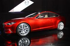In Hyundai's footsteps? The next Mazda6 will go 4-cyl only.