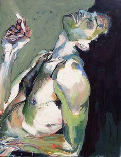 Impressive artwork by Birgitta Bachmann. Figure Painting, Painting & Drawing, Peace Art, Ap Art, Art Plastique, Aesthetic Art, Figurative Art, Oeuvre D'art, Art Inspo