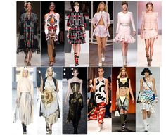 What takes over the runway for the Summer season. This time we have the prints and the flowiness.