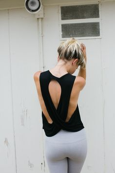The Half Moon Crop :: Paired with leggings or your favorite denim, this piece will have you standing out for all of the right reasons. www.inflowstyle.com