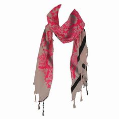 Leigh & Luca, snake triangle pink $98