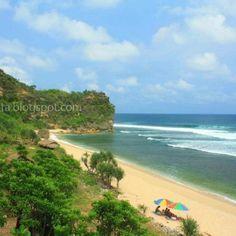 Yogyakarta beach, Indonesia.