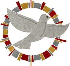 Machine Embroidery Design: Mega Multicolor Holy Spirit Dove