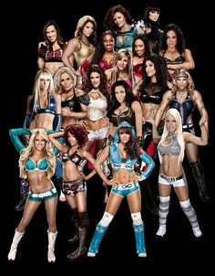 wwe divas, This pic has all the wwe diva's which is cool , cuz u never see all the Divas together all at one time lol