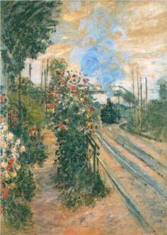Arriving at Montegeron - Claude Monet