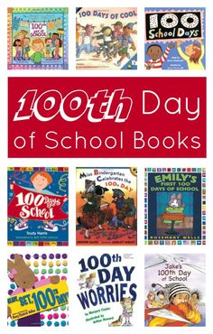 The 100th day is a big day for kids who've been counting down. These 100th Day of School Books books would be great to read leading up to and on the big day.