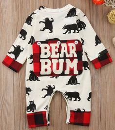 b15e9506979f81 Bear Bum #BabyBoy #BabyFever #BabyRomper #Babies Baby Boy Fashion, Kids  Fashion