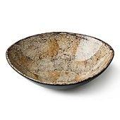 """DIANE von FURSTENBERG """"Lacquered Eggshell"""" Irregular Bowl"""