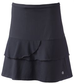 """Pink Lady (Black) Bette & Court Ladies 18"""" Pull-On Golf Skort available at @lorisgolfshoppe"""