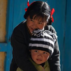 Beautiful children of Arunachal Pradesh.  So sweet and innocent.