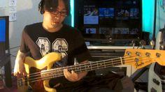 ベース1本でLinkin Park - What I've DoneをLOOPSTATIONで弾いてみた!bass solo