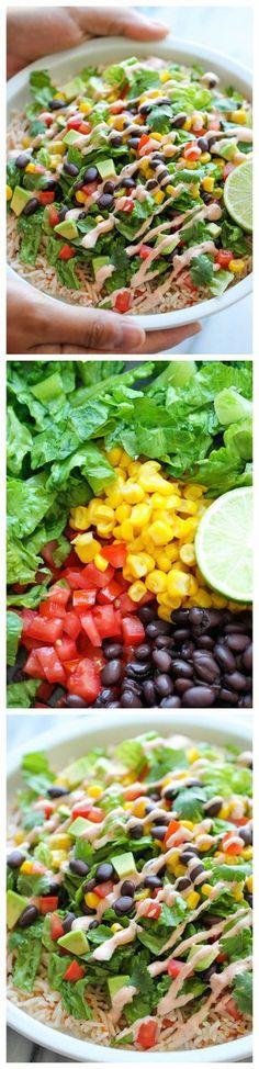 SaladFruits&vegetables on Pinterest   Salad, Avocado Salads and ...