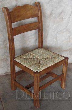 Silla Circa Tejida with Woven Seat - Demejico