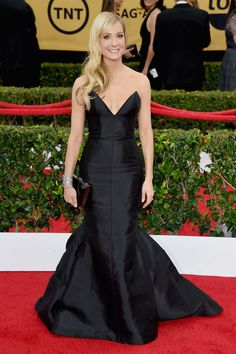 Joanne Froggatt in Honor at SAG Awards 2015 Getty - HarpersBAZAAR.com
