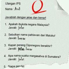 Ini Yang Salah Yang Buat Soal Apa Siswsih Hahaha