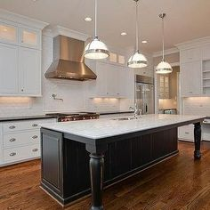 Will a Kitchen Island Fit In Your Home Design? Will a Kitchen Island Fit In Your Home Design? Kitchen Island With Legs, Kitchen Island Bench, Farmhouse Kitchen Island, Big Kitchen, Kitchen Islands, Kitchen Black, Kitchen Cabinets, Kitchen Sink, Island Table