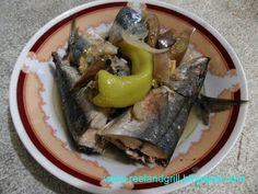 Reel and Grill: Paksiw na Galunggong (Mackerel Scad Stewed in Vinegar)