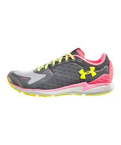 Take a look at this Charcoal UA Micro G® Storm Running Shoe by Under Armour® on #zulily today!