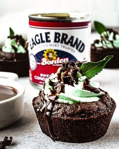 is here and our friend Kim from the has you covered with these fresh and fun Chocolate Mint Brownie Cups! Brownie Recipes, Cupcake Recipes, Cupcake Cakes, Dessert Recipes, Cupcakes, Chocolate Mint Brownies, Decadent Chocolate, Mint Desserts, Delicious Desserts