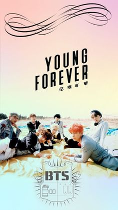 Imagem de wallpaper, young forever, and bts