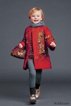 Dolce & Gabbana Bambino Осень-Зима 2014-2015