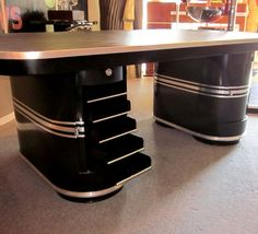 Art Deco Office Desk - Contemporary Home Office Furniture Check more at http://www.drjamesghoodblog.com/art-deco-office-desk/ #artdecofurniture