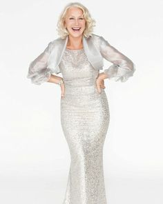 Helen Mirren - this would make a lovely MOB/MOG dress