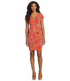 Jones New York Signature Petites FauxWrap Dress #Dillards