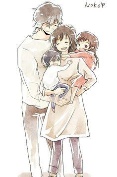 S o b Totoro, Wolf Children Ame, My Chemical Romance Wallpaper, Lobo Anime, Japanese Animated Movies, Animes To Watch, Manhwa, Otaku, Anime Family