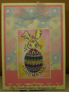 I need to stamp: Easter eg