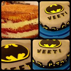 Batmancake Batman, cake, sugarfondat