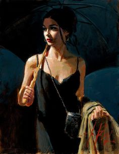 Fabian Perez Night Walk IV print for sale. Shop for Fabian Perez Night Walk IV painting and frame at discount price, ships in 24 hours. Tattoo Aquarelle, Pinturas Art Deco, Local Art Galleries, Romance Art, Illustration Art, Illustrations, Pulp Art, Paintings For Sale, Amazing Paintings
