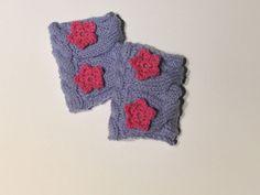 Weiteres - Babystulpen mit Blüte - ein Designerstück von Eli-Me bei DaWanda