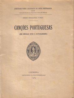 Canções portuguesas (Do século XVIII à actualidade)