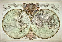 mappemonde roy. Древние карты мира в высоком разрешении - Старинные карты