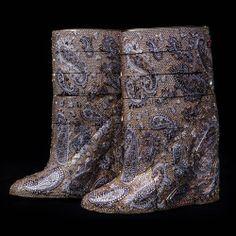 Diamond boots valued at $3.5 million